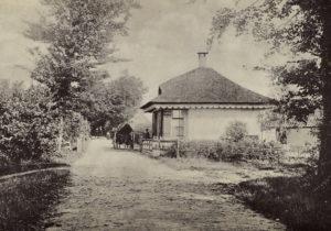 Blaricum 1910 Tol aan Eemnesserweg